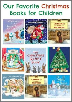 Our Favorite Christmas Books for Children (Lots of great picture books for the holiday season!) ~BuggyandBuddy.com