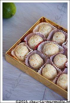 Boules de neige coco (Cadeaux gourmands #12)   Marmotte cuisine !