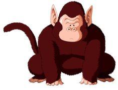 Bubbles ((((se lee babels)))) es el chimpanze de Kaiō-sama lo usa para entrenar a sus alubnos - bueno