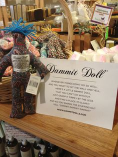 """dammit doll"""