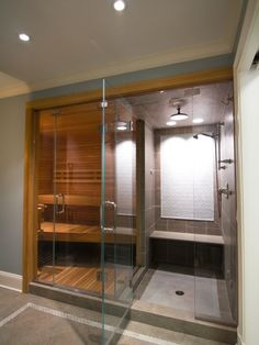 Nice Home Feature Steam Room And Sauna In The Great To Add A Pool