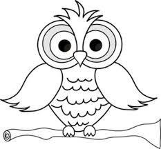 Znalezione obrazy dla zapytania cute owl coloring