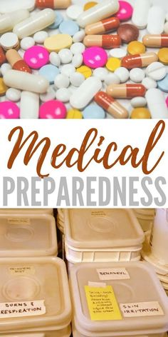 Medical Preparedness - A topic that many people attempt to avoid, medical preparedness is important.