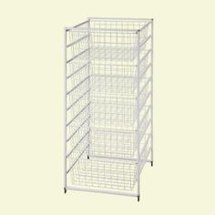 ClosetMaid 17 in. Drawer Kit with 5 Wire Baskets-6202 at The Home Depot   For Pantry?   They have Wood Laminate top that go with them on the Closet Maid site.
