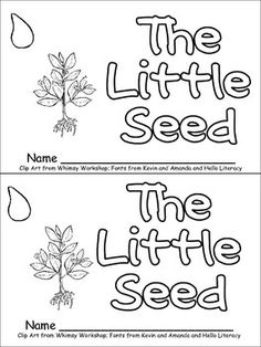 EMERGENT READER: The Little Seed ($1.00)