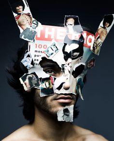 Marcel van der Vlugt / mask / on TTL Design No Face, Animal Masks, Animal Heads, Max Ernst, Hidden Identity, Hidden Face, Beauty Shoot, Costume Makeup, Dark Beauty