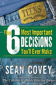 Descargar o leer en línea The 6 Most Important Decisions You'll Ever Make Libro Gratis PDF/ePub - Sean Covey, Sean Covey's wildly popular The 7 Habits of Highly Effective Teens was one of the first teen success guides ever, and. Books For Teens, Gifts For Teens, Teen Books, Motivational Books, Inspirational Quotes, Teen Presents, Tween Girl Gifts, Tween Girls, Cover Design