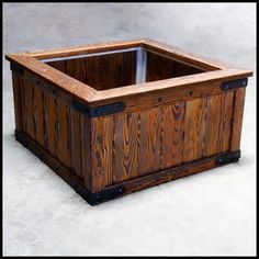 Wooden Planter Boxes - Bing images