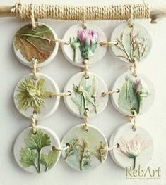 Leaf Casting with Plaster of Paris Clay Projects, Clay Crafts, Diy And Crafts, Ceramic Pottery, Ceramic Art, Clay Wall Art, Plaster Art, Concrete Crafts, Botanical Wall Art