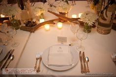 Drift Wood with White Florals for Fabulous Reception Decor - The French Bouquet - Zinke Design - Ace Cuervo Photography