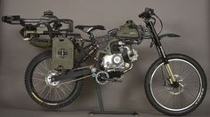 Motopeds Survival Bike is the Ultimate in Pedal-Power Adventuring - autoevolution for Mobile