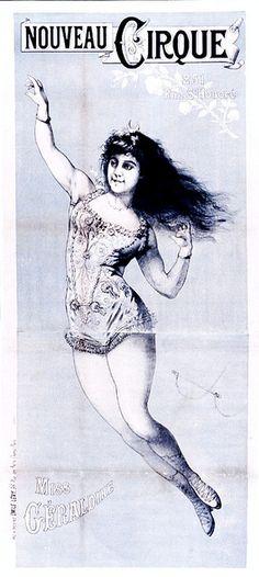 Nouveau Cirque--Miss Geraldine
