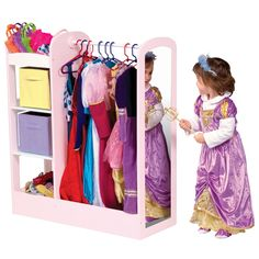 Guidecraft See and Store Dress-up Center in Pastel Bookends, Playroom, Game Room Kids, Game Room, Game Rooms, Playrooms, Arcade Room, Kidsroom