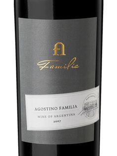 finca agostino winery blend label design detail #taninotanino #vinosmaximum