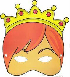 mascaras de carnaval de rainha