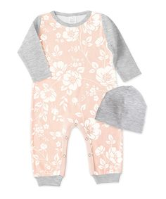 39592e2bb8aa Look at this Primrose  amp  Heather Gray Romper  amp  Beanie - Infant on