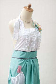 easy pattern for anthropologie apron