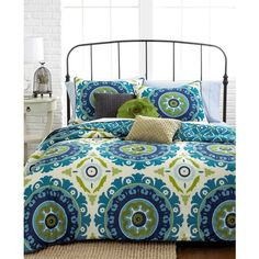 Suzani 3 Piece Full/Queen Duvet Cover Set
