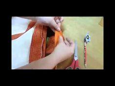 Explicação dada em aula para união do falso viés duplo utilizado para acabamento em uma bolsa. Poderá ser utilizado em colchas também.