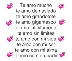 Te Amoooooooo Mi Amor ❤