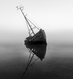 A print of one of the many shipwrecks sitting on the bank of the river Orwell in Suffolk, Printed on Fuji Fine Art Baryte Gloss archival paper, and prints are available. Aesthetic Photography Nature, Nature Photography, Horror Photography, Ferdinand, Project Mermaid, Ghost Ship, Shipwreck, Character Aesthetic, Story Inspiration