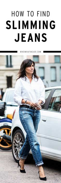 How to find the most flattering jeans for your body type