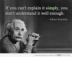 Simply - Albert Einstein