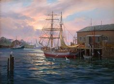 Charles Vickery: Original Paintings: Item# 18015