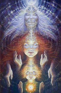 Ancestry #ravenectar #visionaryart #art #trippy #psychedelic #sacred