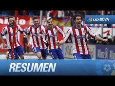 Resumen de Atlético de Madrid (4-0) Real Madrid (07/02/2015).