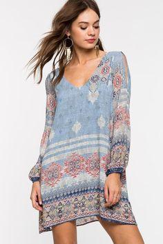 e278f19461 A GACI l Bohemian Breeze Shift Dress l  Agaci Ladies Day Dresses