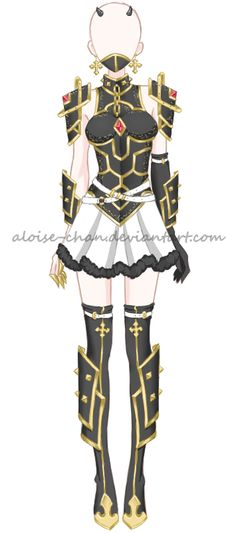 OC Aloise Dragon Armour by Aloise-chan.deviantart.com on @DeviantArt