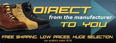 Work Boots Direct is a leader in online boot sales and is an official dealer for every brand of boot we sell online.