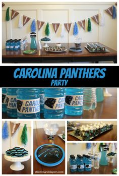 Carolina Panthers Super Bowl Party Ideas