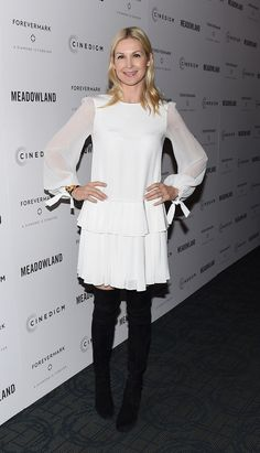"""4. Kelly Rutherford At The """"Meadowland"""" New York Premiere At Sunshine Landmark   The Most Fab And Drab Celebrity Looks Of The Week"""