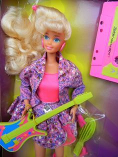 **lalka w pudełku**: Barbie and the Beat - 1989