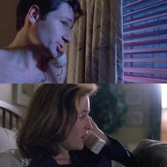 """""""Her name is Bambi??"""" """"Her parents were naturalists. Her theory is that ufos are actually nocturnal insect swarms passing through electrical air fields ..."""" """"Her name is Bambi??"""" This episode was so fun... #201daysofxfiles #season3warofthecoprophages #gilliananderson #davidduchovny #xfiles #xfiles2016 #xfilesrevival #mulder #scully #firstladyofscifi Season 3 War of the Coprophages"""