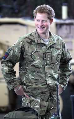 """After one tour of duty back in 2008, the prince will be deployed back to Afghanistan sometime in 2012. """"I can't wait to get out there,"""" Harry is quoted as saying."""