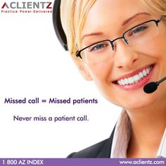 Never miss a patient call. 24/7 answering desk service for your dental practice.  ‪#‎Virtual_Receptionist‬