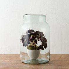 Vintage Hungarian Storage Jar, Medium in Gardening PLANTERS Terrariums Vessels at Terrain