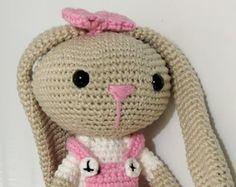 Amigurumi de Crochê (Coelha)