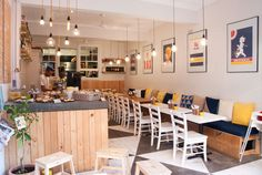 You know their mother's and father very well. Their life in a sense h… Fiction Small Restaurant Design, Deco Restaurant, Small Cafe Design, Restaurant Interior Design, Modern Restaurant, Cafe Shop Design, Coffee Shop Interior Design, Bakery Design, Scandinavian Restaurant