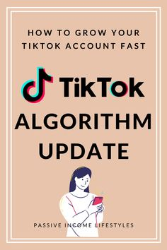TikTok Algorithm UPDATE in July 2020. HOW TO GROW YOUR TIKTOK ACCOUNT FAST with the new TikTok best practices. Watch more videos on algorithm updates, tricks, and tips. Follow #PassiveIncomeLifestyles for tips on internet marketing, affiliate marketing, business, and making money online #tiktok #tiktokmarketing #makemoneyonline #socialmediamarketing #internetmarketing #affiliatemarketing Internet Marketing, Social Media Marketing, Digital Marketing, Make Money Online, How To Make Money, Digital Nomad, Passive Income, Affiliate Marketing, Need To Know