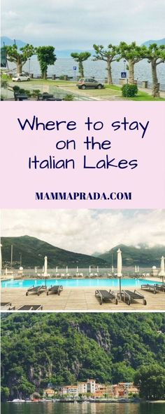 Where to stay on Lake Maggiore: Golfo Gabella Beautiful Places To Visit, Beautiful Beaches, Places To See, Lake Maggiore Italy, All About Italy, Family Friendly Holidays, Italian Lakes, Italian Beauty, Next Holiday