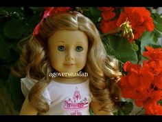 Curling your American Girl Dolls hair that is in bad condition