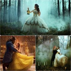 I'm so excited to see @disney new Beauty and the Beast! Definitely gets me in the creative mood✨ Here's a little throw back with photographer @bellakotak, models @ian_hencher, and @jessrachelmac  for @faeriemagazine with our Belle inspired Bridal gown for the 'LABYRINTH' photoshoot project ✨ Photographer - Bella Kotak  Male Model - Ian Hencher Female Model - Jessica McClellan The Goblin King Wardrobe - Daisy Jane Turner  Gown - Firefly Path