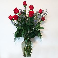 A Dozen Long Stem Roses (Reds or Colors). Perfect for Valentine's Day