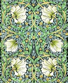 William Morris Wallpaper | William Morris Pimpernel Wallpaper is a artistic HD wallpaper ...