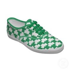 st patrick's day keds sneakers | Irish Shamrock Sneakers by Custom_Shoes