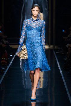 Ermanno Scervino at Milan Fashion Week Fall 2014 - Runway Photos